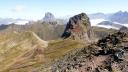 L'Anayet i, al fons el Midi d'Ossau, des del Vèrtice de Anayet