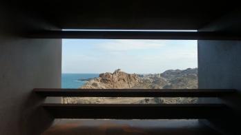 Mirador en una àrea recuperada, abans ocupada pel Club Mediterranée (Parc natural del cap de Creus)
